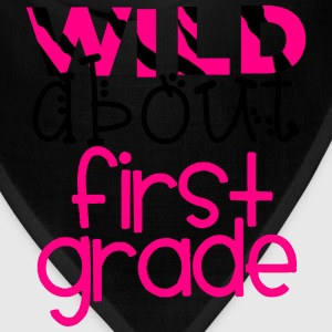 Wild About First Grade T-Shirts - Bandana