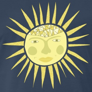 sun face Men - Men's Premium T-Shirt