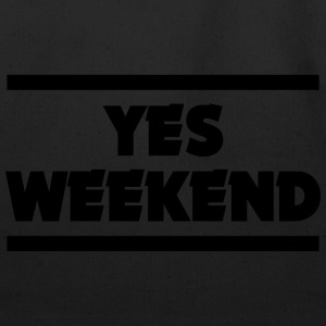 YES WEEKEND Hoodies - Eco-Friendly Cotton Tote