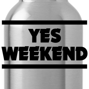 YES WEEKEND Hoodies - Water Bottle