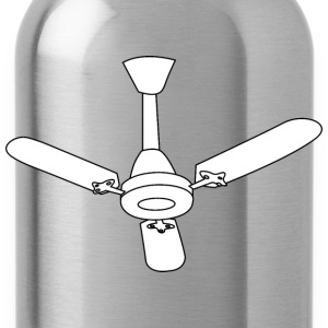 ceiling Fan outline - Water Bottle