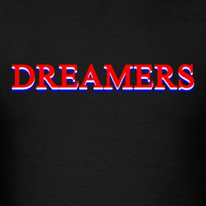Dreamers (color) Hoodies - Men's T-Shirt