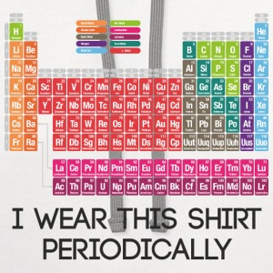 I Wear This Shirt Periodically - Contrast Hoodie