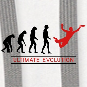Ultimate Frisbee Evolution Bottles & Mugs - Contrast Hoodie