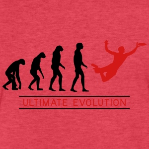 Ultimate Frisbee Evolution Tanks - Fitted Cotton/Poly T-Shirt by Next Level