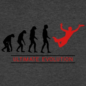 Ultimate Frisbee Evolution Tanks - Men's V-Neck T-Shirt by Canvas