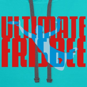 Ultimate Frisbee T-Shirts - Contrast Hoodie