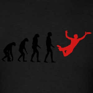 Ultimate Frisbee Evolution Long Sleeve Shirts - Men's T-Shirt