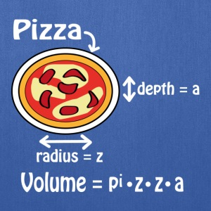 Pizza for geeks and nerds T-Shirts - Tote Bag