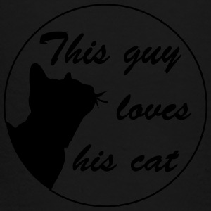 Guy loves cat Bags & backpacks - Toddler Premium T-Shirt
