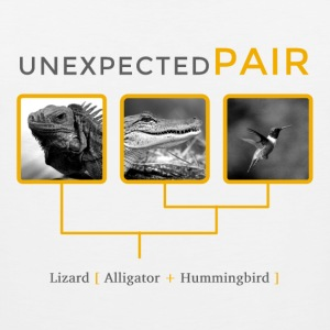Unexpected pairs T-Shirts - Men's Premium Tank