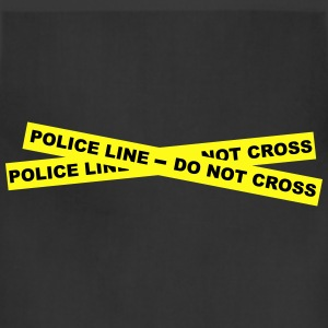Police Line - Do Not Cross Women's T-Shirts - Adjustable Apron