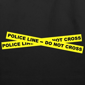 Police Line - Do Not Cross T-Shirts - Eco-Friendly Cotton Tote