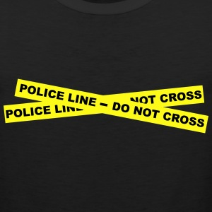 Police Line - Do Not Cross T-Shirts - Men's Premium Tank