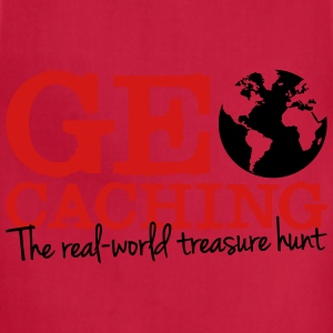 Geocaching - the real-world treasure hunt T-Shirts - Adjustable Apron