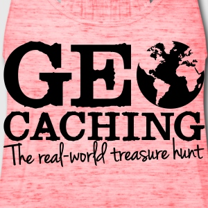 Geocaching - the real-world treasure hunt T-Shirts - Women's Flowy Tank Top by Bella