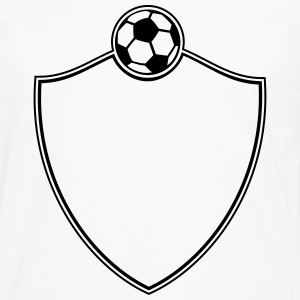 Soccer Emblem T-Shirts - Men's Premium Long Sleeve T-Shirt