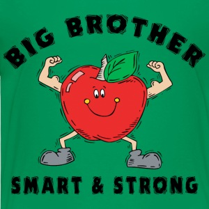 Big Brother Smart and Strong - Toddler Premium T-Shirt