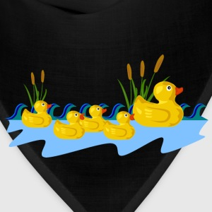 Rubber Duck Family Swimmi - Bandana
