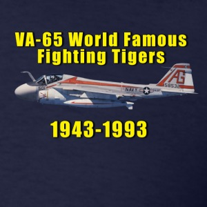 VA-65 World Famous Fighting Tigers A-6 Tribute Swe - Men's T-Shirt