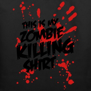 This is my Zombie Killing Shirt Women's T-Shirts - Eco-Friendly Cotton Tote
