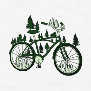 pine bike Drinkware - Men's T-Shirt