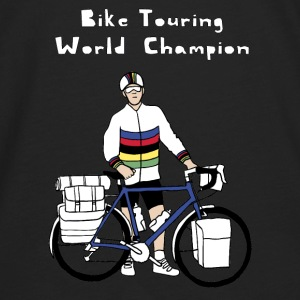 Bike Touring World Champion Bags & backpacks - Men's Premium Long Sleeve T-Shirt