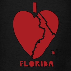 i heart Florida (red) Bags & backpacks - Men's T-Shirt