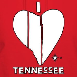 i heart Tennessee (red) Bags & backpacks - Women's Hoodie