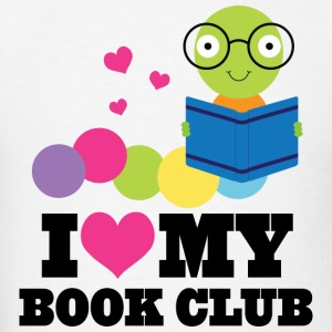 Book Club I Heart Cute Hoodies - Men's T-Shirt