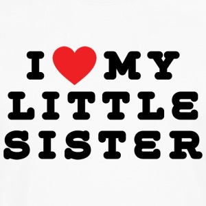 I Love My Little Sister - Men's Premium Long Sleeve T-Shirt