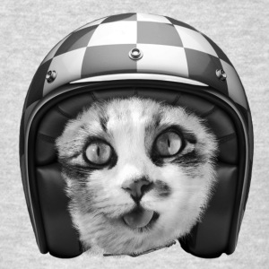 Biker cat Hoodies - Men's T-Shirt