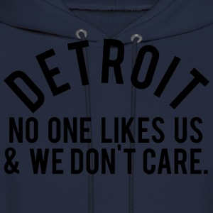 Detroit No One T-Shirts - Men's Hoodie