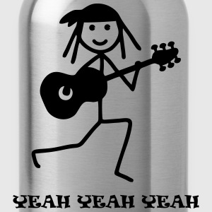 Guitarist - Yeah yeah yeah Hoodies - Water Bottle