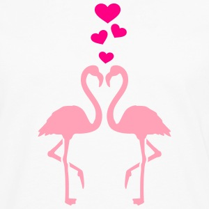 Flamingo T-Shirts - Men's Premium Long Sleeve T-Shirt