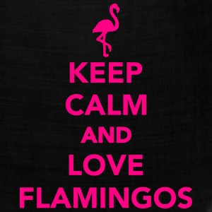 Keep calm and love Flamingos Kids' Shirts - Bandana