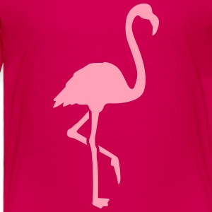 Flamingo Kids' Shirts - Toddler Premium T-Shirt