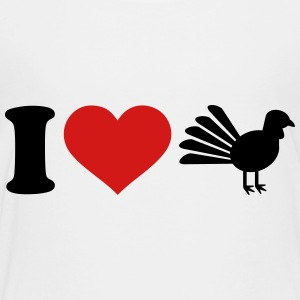 I love Turkey Kids' Shirts - Toddler Premium T-Shirt