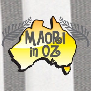 MAORI in OZ (Australia) New Zealand Bottles & Mugs - Contrast Hoodie