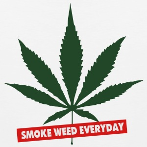 SMOKE WEED EVERYDAY - Men's Premium Tank