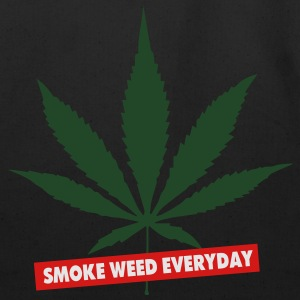 SMOKE WEED EVERYDAY - Eco-Friendly Cotton Tote