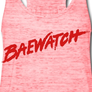 Baewatch T-Shirts - Women's Flowy Tank Top by Bella
