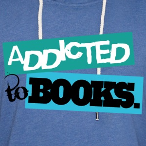 Book Lover Funny Humor T-Shirts - Unisex Lightweight Terry Hoodie