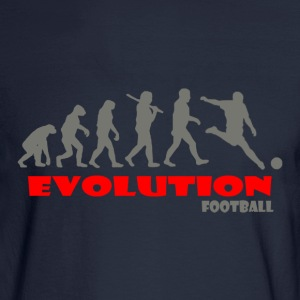 Football ape of Evolution - Men's Long Sleeve T-Shirt