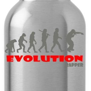 Rapper Rap ape of Evolution - Water Bottle