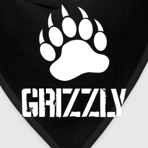 Grizzly Paw … white - Bandana