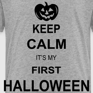 keep calm its my first halloween  Kids' Shirts - Toddler Premium T-Shirt