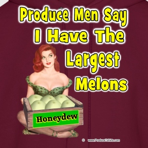The Largest Melons T-Shirts - Men's Hoodie