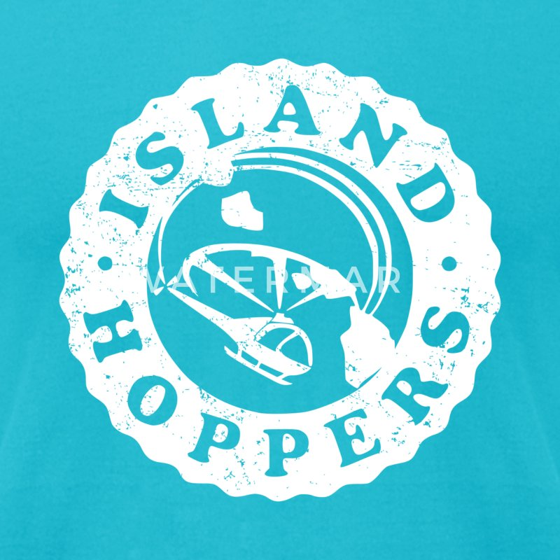 Island Hoppers - Men's T-Shirt by American Apparel
