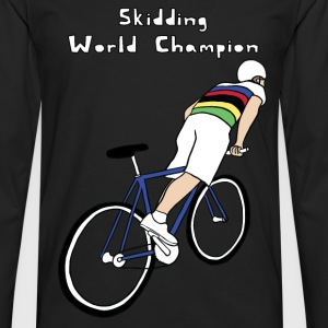 skidding world champion Kids' Shirts - Men's Premium Long Sleeve T-Shirt